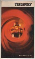 "Gemma Craven & Ian Richardson  ""Trelawny""  London Playbill  1972  Roland Culver"