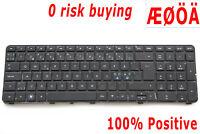 For HP Pavilion dv7-4000 dv7-4138eo dv7-4142eo Keyboard Norwegian Nordic Swedish