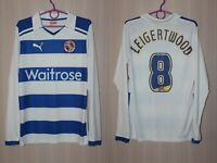 Reading 2011 2012 Home Puma Long Sleeve Shirt Jersey Size M