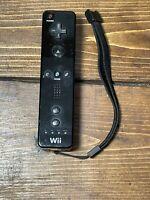 Nintendo Wii Remote Controller Wiimote Black (RVL-003)