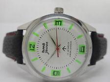 genuine hmt jawan hand winding men's steel vintage india made watch run order