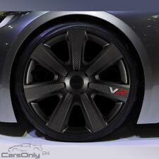 4x COPRI RUOTA 16 pollici VR CARBON PRO NERO Radzierblenden pannelli Set Set Nuovo
