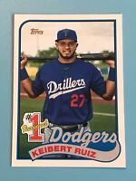 2020 Topps Update Series Keibert Ruiz RC #P-21 Los Angeles Dodgers
