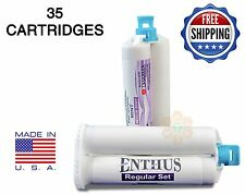 Enthus MEDIUM BODY VPS PVS Impression Material REGULAR Set 35 X 50ML Dental