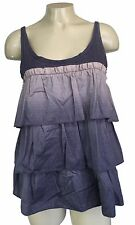 Womens MARC JACOBS Ombre Ruffled Tiered Sleeveless Top Size XS