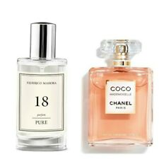 FM 18 Pure Collection Federico Mahora Perfume For Women Parfum 50ml Gift