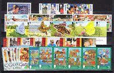 Guernsey Scott 558 / 624 Mint Nh (7 complete sets) Catalog Value $54.25
