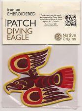 Large Diving Eagle Native Art Souvenir Canada Patch