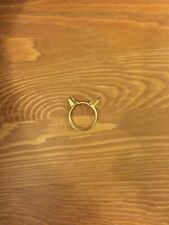 Thomas Sabo Gold Cat Ears Ring