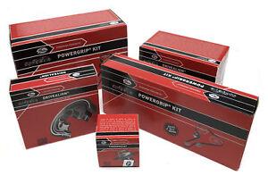 Gates Alternator Fan V-Ribbed Drive Belt 6DPK1698 Fits BMW 1 Series 3