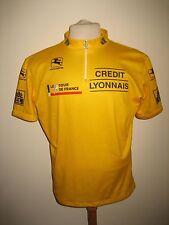 Tour de France yellow jersey shirt cycling trikot maillot ciclisme size 54, XL