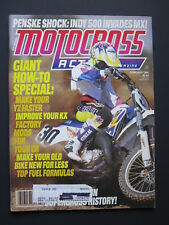 1994 February MOTOCROSS ACTION Magazine moto x mx dirt bike racer AHRMA Vintage