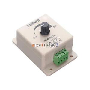 2V 8A PIR Sensor LED Strip Light Switch Dimmer Brightness Controller Power A