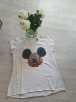 "MICKEY MOUSE💕T-SHIRT ""MICKEY""💕 Gr.M/L paßt bei 40 - 46💕Farbe: Weiß 💕"