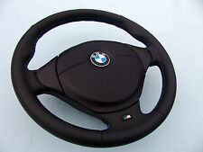 BMW M TECHNIC SPORTS STEERING WHEEL WITH AIRBAG, E36 M3 NEW LEATHER