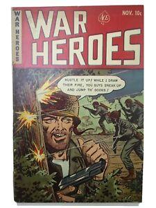 WAR HEROES #5 2.0 Racist Slur cover-COMBAT-KOREAN WAR