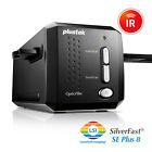 Plustek OpticFilm 8200i SE 35mm Film Slide Scanner Silverfast Plus 8.8 SEE VIDEO