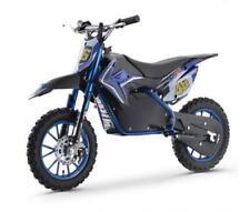 Electric Pit Bike - 500w 36v - Blue / Black - 5 Yrs Plus - 20K Range
