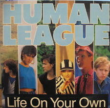"HUMAN LEAGUE Life On Your Own /The World Tonight VIRGIN RECORDS 12"" VINYL SINGLE"