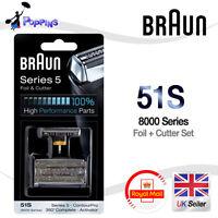 Nuevo Original BRAUN 51S 8000 Serie 5 De hombre Cabezal De Maquinilla
