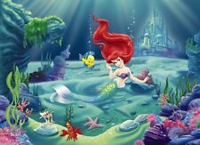 Wall Mural photo Wallpaper Ariel The Little Mermaid 254x184cm Kids room decor