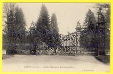 cpa 77 GRETZ ARMAINVILLIERS (Seine et Marne) Grille d'Honneur Entrée du Château