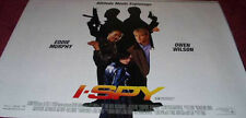 Cinema Poster: I-SPY 2002 (Quad) Eddie Murphy Owen Wilson Famke Janssen