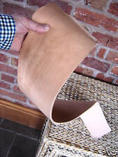 """12""""x 5"""" NATURAL TOOLING VEG TAN LEATHER.HIDE 2 mm Sheath wet mould emboss ect"""