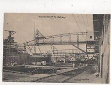 Kolenbedrijf Te Sabang Indonesia Vintage Postcard 387b