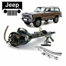 "63-83 Jeep Wagoneer Black Tilt Steering Column Keyed 33"" SJ Pioneer Hawk 17 Dana"