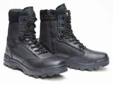 Zip Military Boots for Men