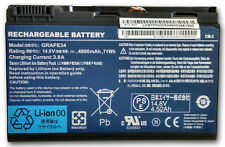 Sanyo GRAPE34 Battery for Acer Extensa TravelMate Gateway 8 Cell BT.00803.022