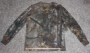 NEW Men's REALTREE Xtra Thermal Shirt M L XL 2XL 3XL Henley Camo Hunting