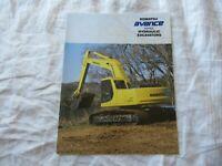 Komatsu PC120-6 PC200 PC210 PC220 PC250 avance excavator brochure