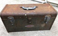 Vintage Craftsman Toolbox Filled With Tools!