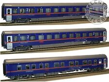 LS Models PI 9704 set di 3 carrozze OBB Nightjet Venezia S.L. Epoca VI - set 1