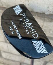Pyramid Putters Mallet Az-2 34� Blair O'Neal Putter Golf Groove Good Condition!
