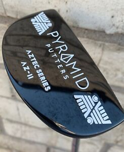 "PYRAMID PUTTERS MALLET AZ-2 34"" BLAIR O'NEAL PUTTER GOLF GROOVE GOOD CONDITION!"