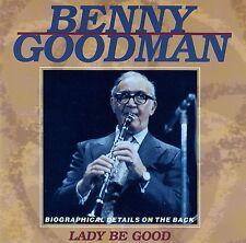 BENNY GOODMAN : LADY BE GOOD / CD - TOP-ZUSTAND