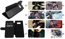 Dororo Anime Phone Case Galaxy S7 S20 S8 S9 Note10 9 Leather Wallet Stand
