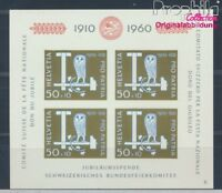 Schweiz Block17 postfrisch 1960 Pro Patria (8532485