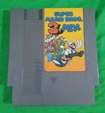 Super Mario Brothers 3 Mix: NES game cartridge Nintendo