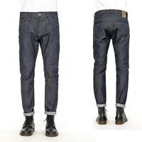 GIANNI LUPO Jeans Casual Uomo Semplice Tinta Unita Blu Scuro Pantaloni ELEGANTE