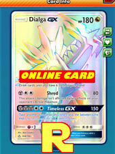 RR Dialga GX - Rainbow - for Pokemon TCG Online ( DIGITAL ptcgo in Game Card)