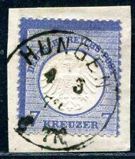DR 1872 10 gestempelt PERFEKT HUNGEN (A9405