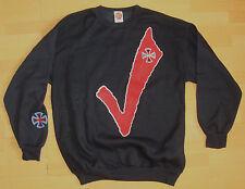 Independent Camion CO' TIQUE Skateboard Col Rond joli haut noir L - VINTAGE' 80s