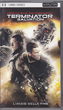 Umd video for PSP PlayStation Portable **TERMINATOR SALVATION** usato come nuovo