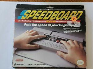 Nintendo NES Pressman Controller Speedboard Speed Board Accessory VG In With Box