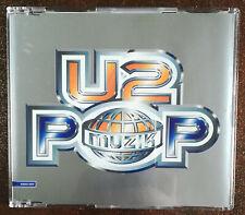 U2 Pop Muzik - UK Promo CD single RARE **bono**bonovox**