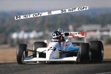9x6 Photograph , Damon Hill , Mooncraft-Mugen-Honda MC041  , F3000 Enna 1989
